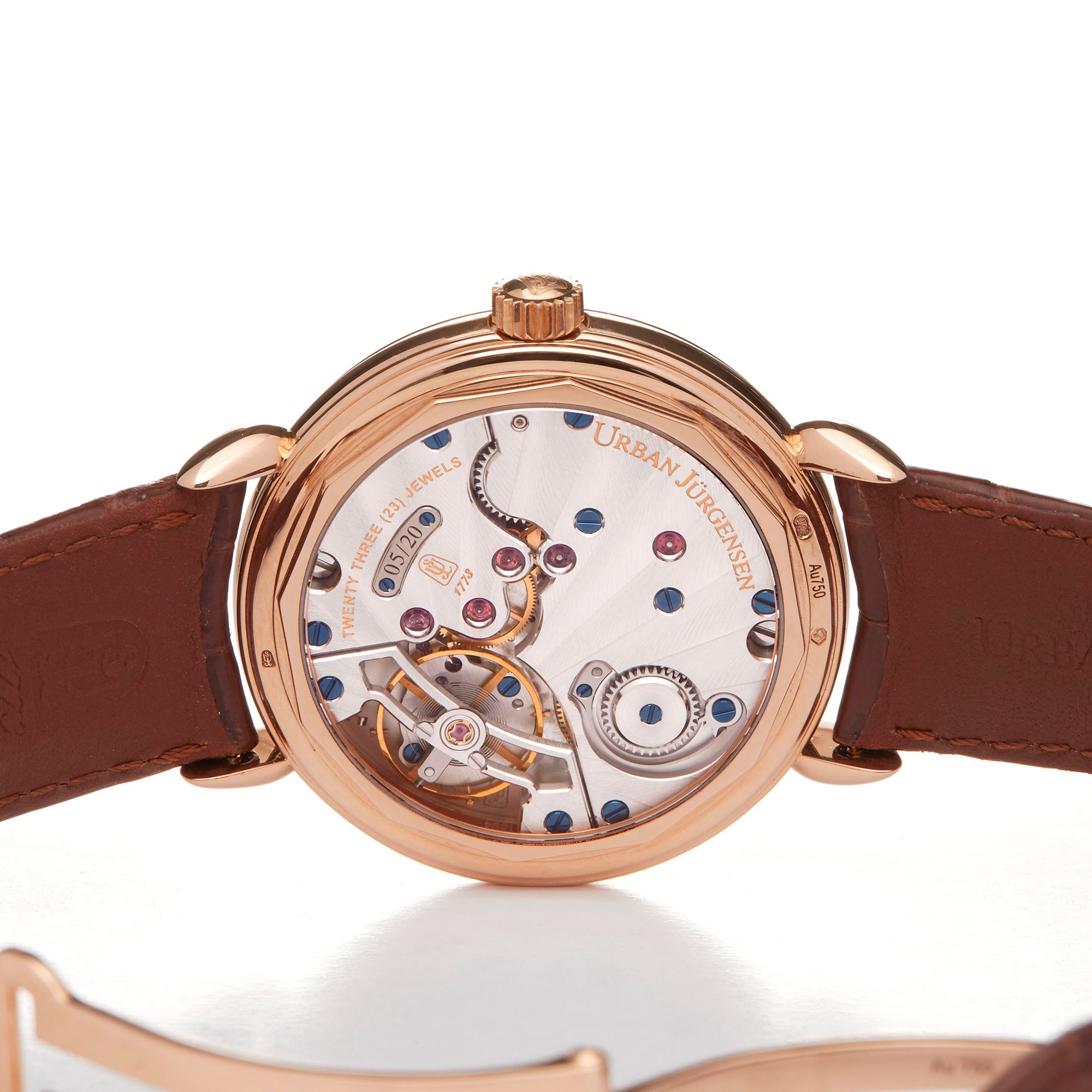 Urban Jurgensen Time Only 18k Rose Gold Rose Gold 1140RG