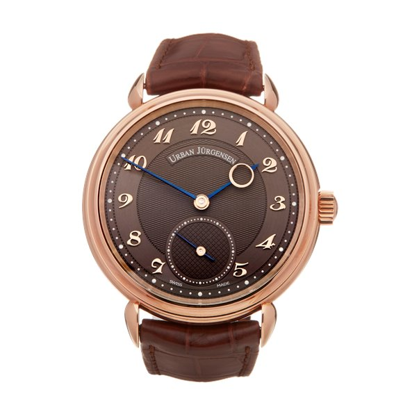 Urban Jurgensen Time Only 18k Rose Gold
