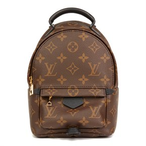 Louis Vuitton Brown Monogram Coated Canvas Mini Palm Springs Backpack