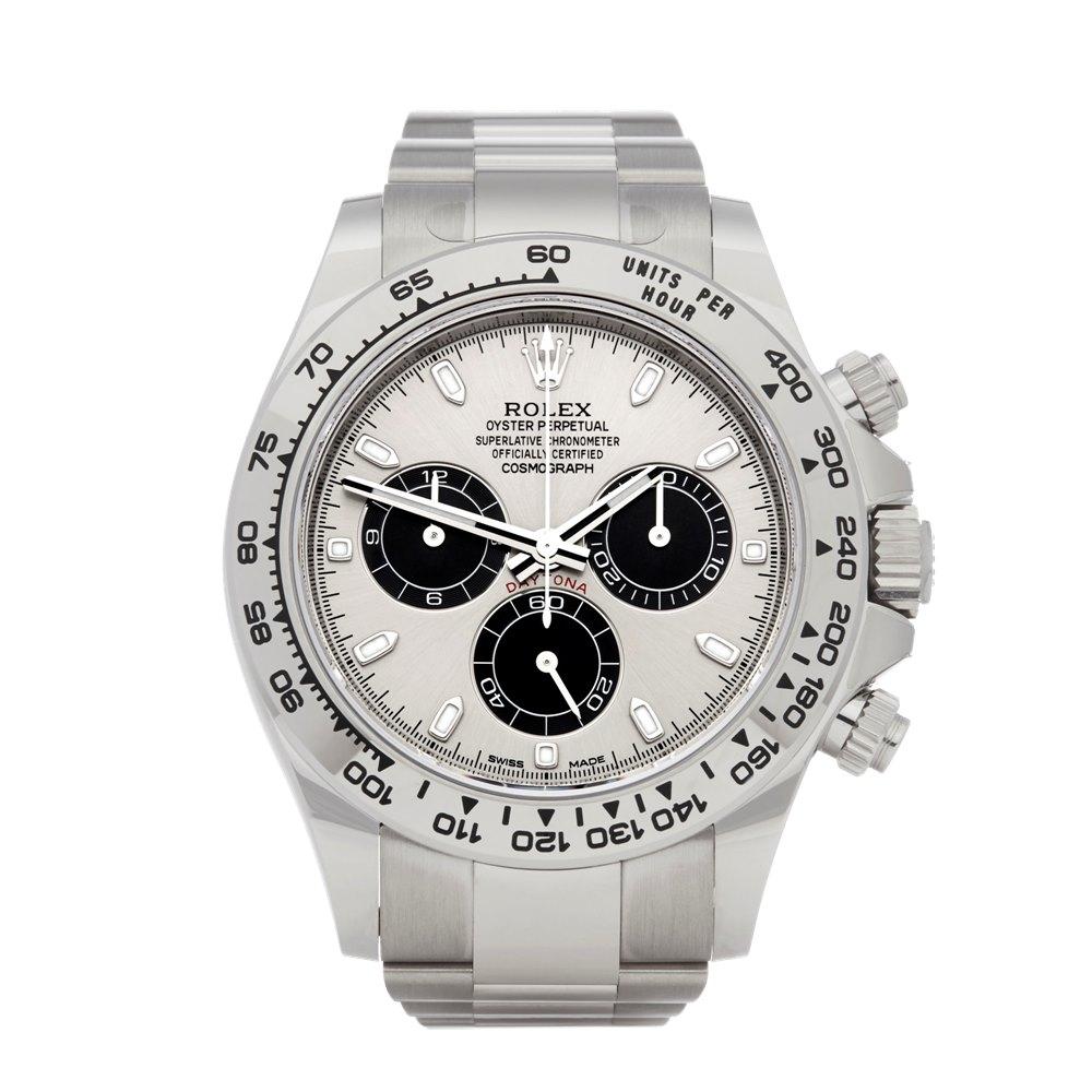 Rolex Daytona Chronograph 18K White Gold 116509