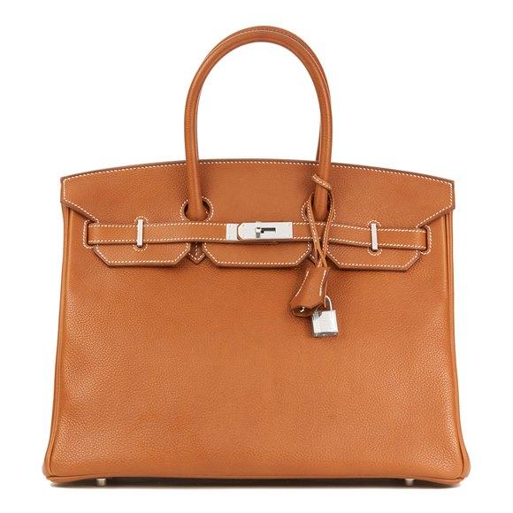 Hermès Barenia Faubourg Leather Birkin 35cm