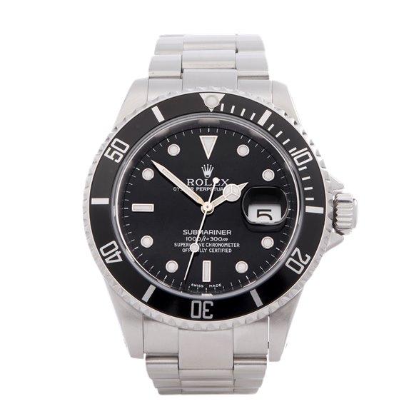 Rolex Submariner Date Stainless Steel - 16610LN