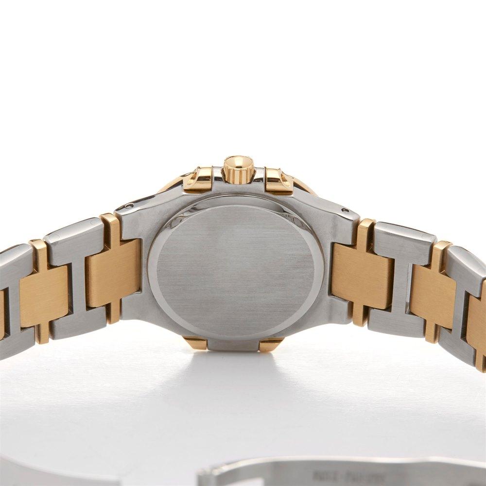 Patek Philippe Nautilus Diamond Stainless Steel & Yellow Gold 4100/052