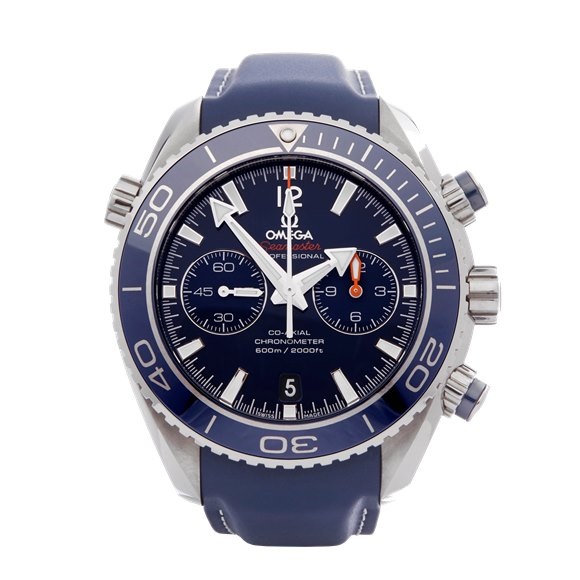 Omega Seamaster Planet Ocean Chronograph Stainless Steel - 232.92.46.51.03.001