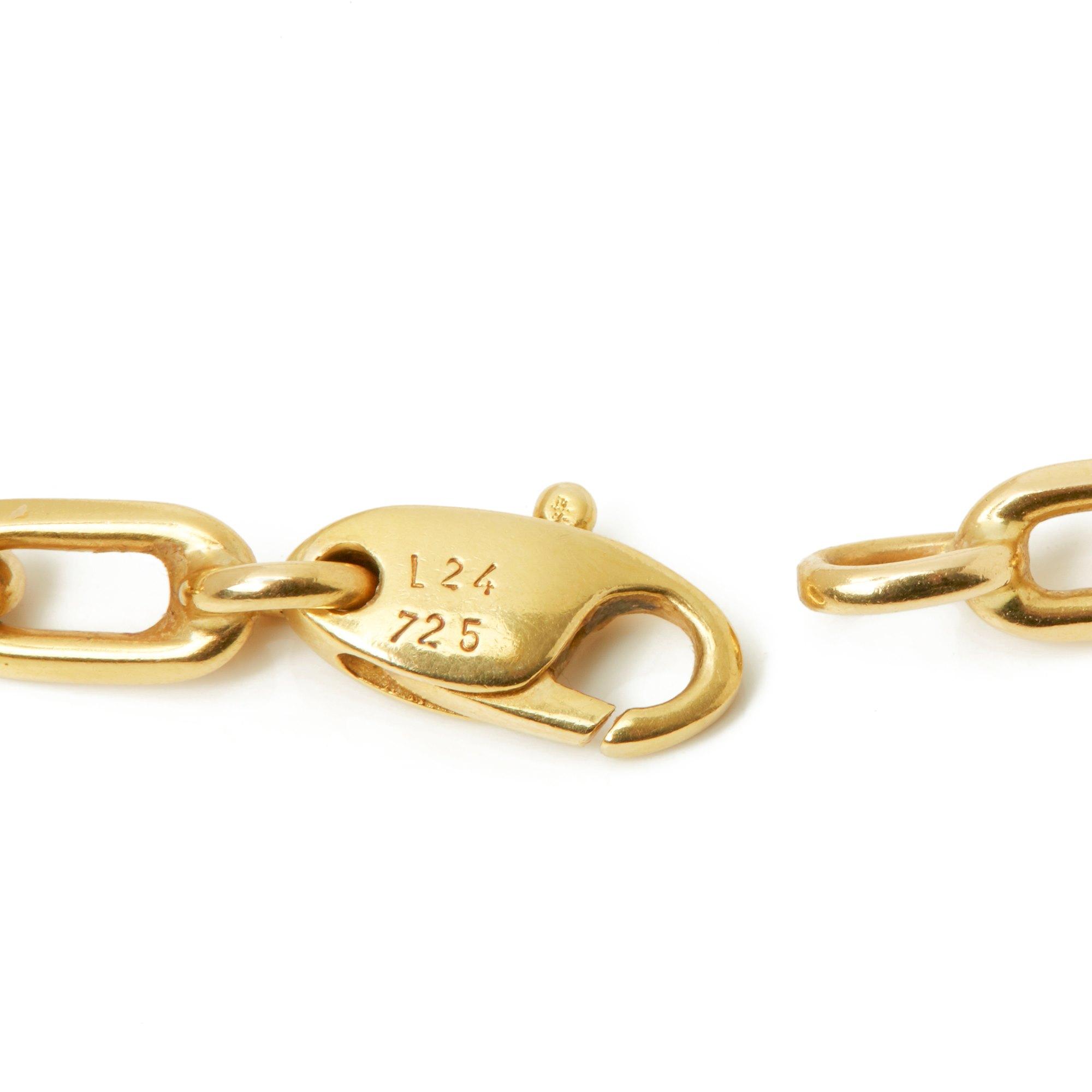 Cartier 18k Yellow Gold Santos de Cartier Spartacus Necklace