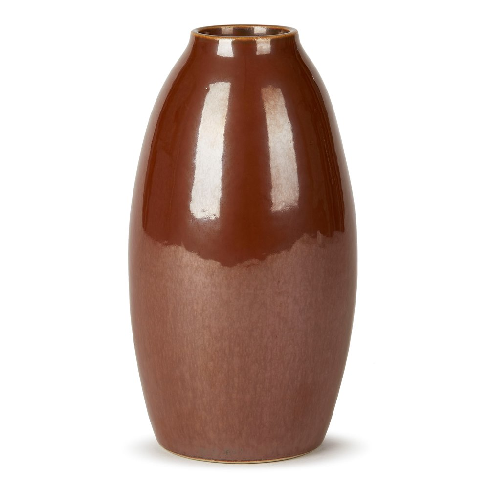COPPER LUSTRE CARL-HARRY STÅLHANE FOR RÖRSTRAND VASE c.1950 Mid Century
