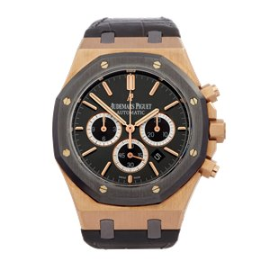 Audemars Piguet Royal Oak Leo Messi Chronograph Rose Gold & Titanium - 26325OL.OO.D005CR.01