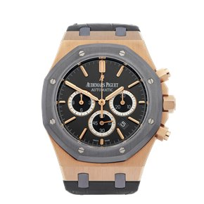 Audemars Piguet Royal Oak Leo Messi Chronograph 18K Rose Gold - 26325OL.OO.D005CR.01