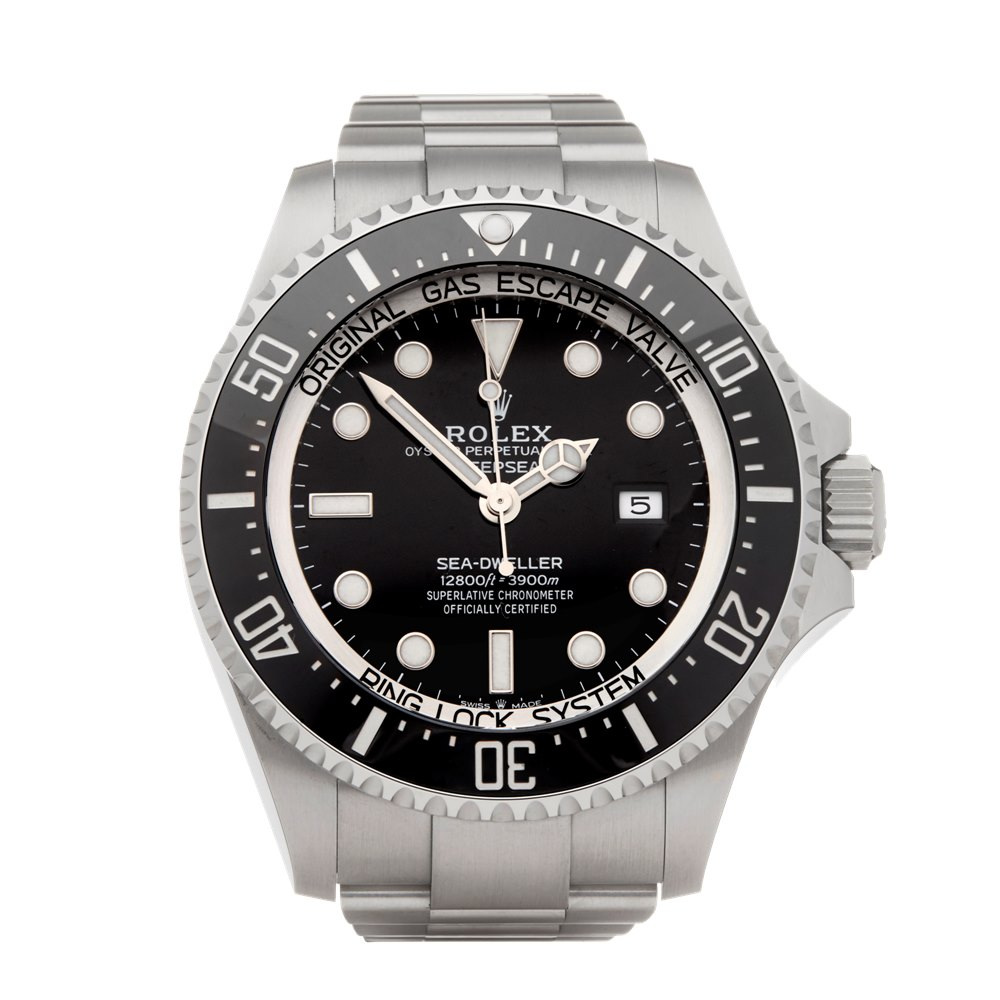 Rolex Sea-Dweller Deepsea Stainless Steel 126660