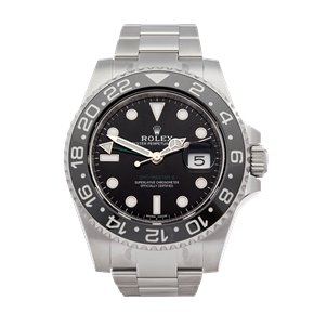Rolex GMT-Master II With Stickers Stainless Steel - 116710LN