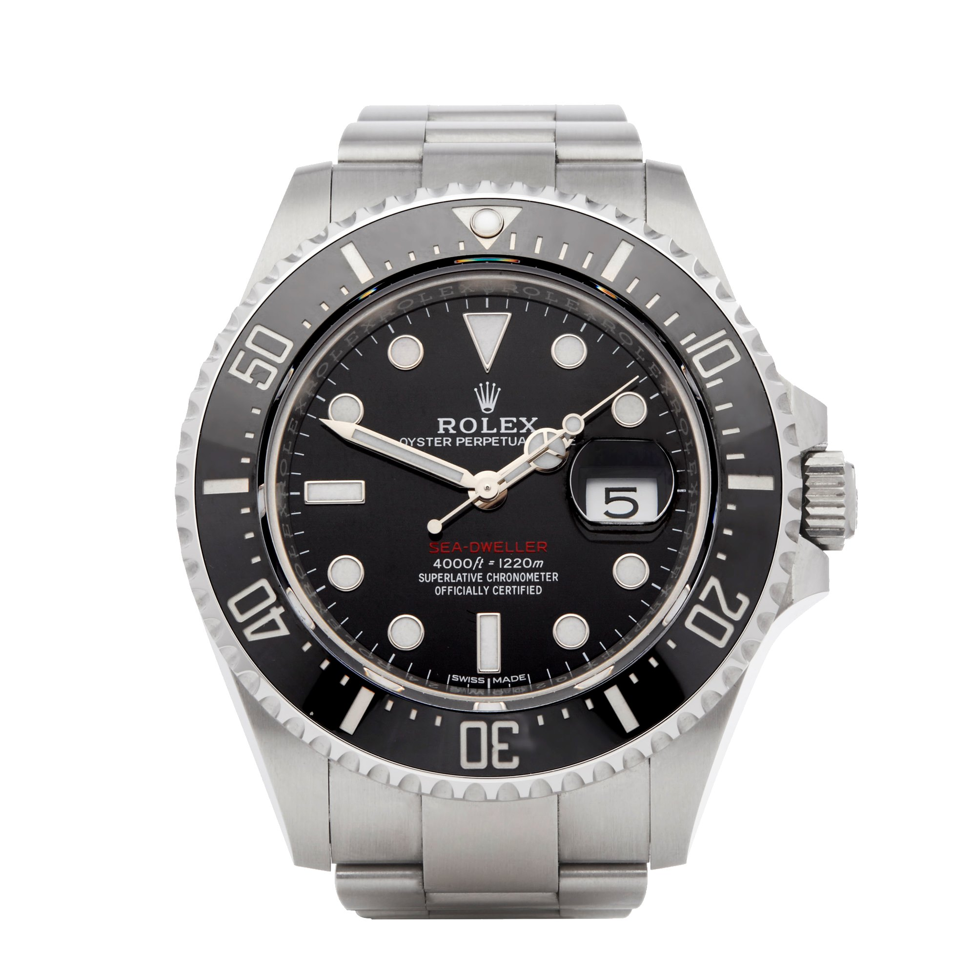 Sea Dweller 50th Anniversary Red Writing Stainless Steel 126600