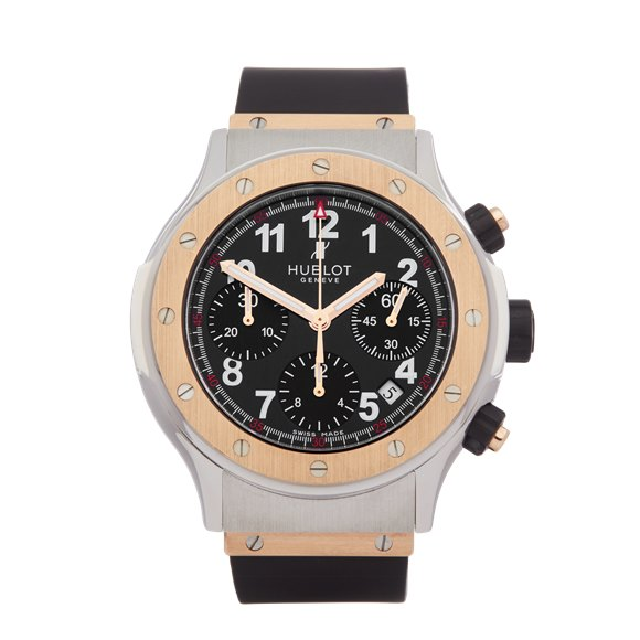 Hublot Super B Chronograph 18K Stainless Steel & Rose Gold - 1926.NL30.7