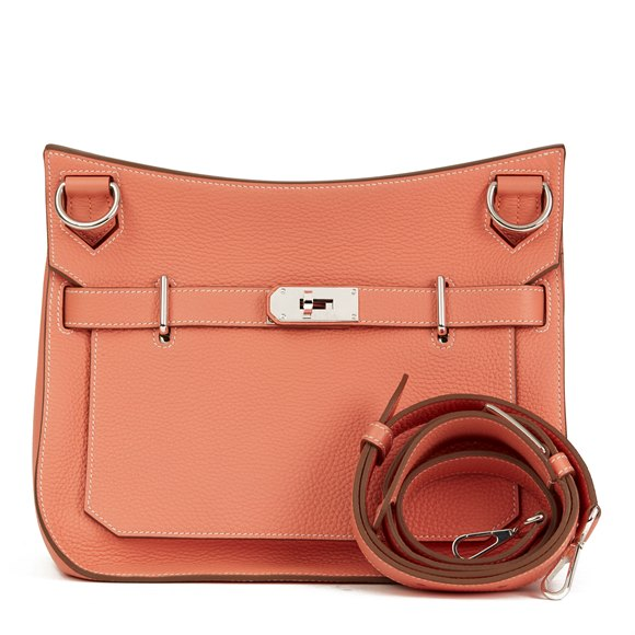 Hermès Crevette Togo Leather Jypsiere 31cm