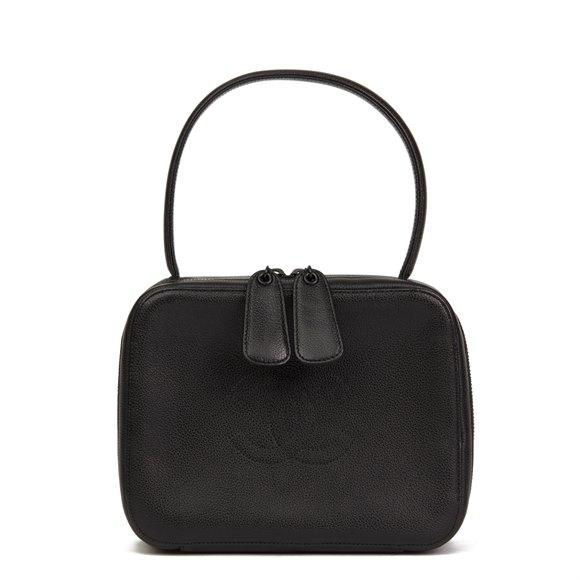 Timeless Top Handle Vanity Handbag