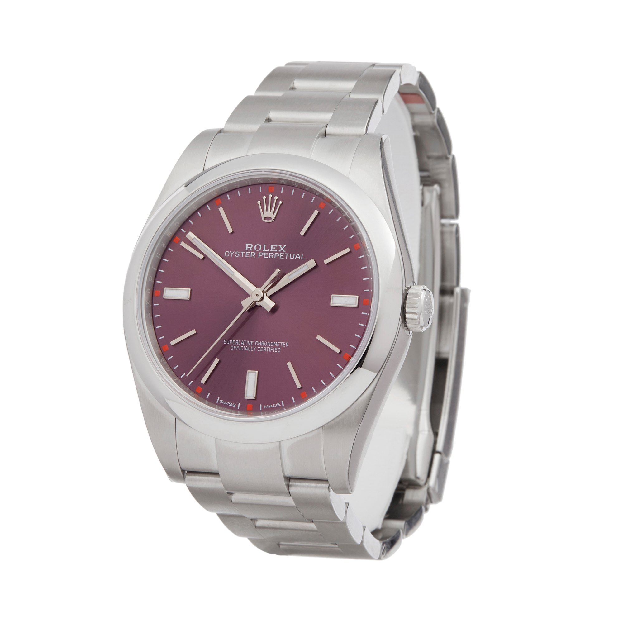 Rolex Oyster Perpetual 39 Stainless Steel 114300