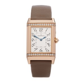 Jaeger-LeCoultre Reverso Diamond Night & Day Floating Indicator 18k Rose Gold - 269.254