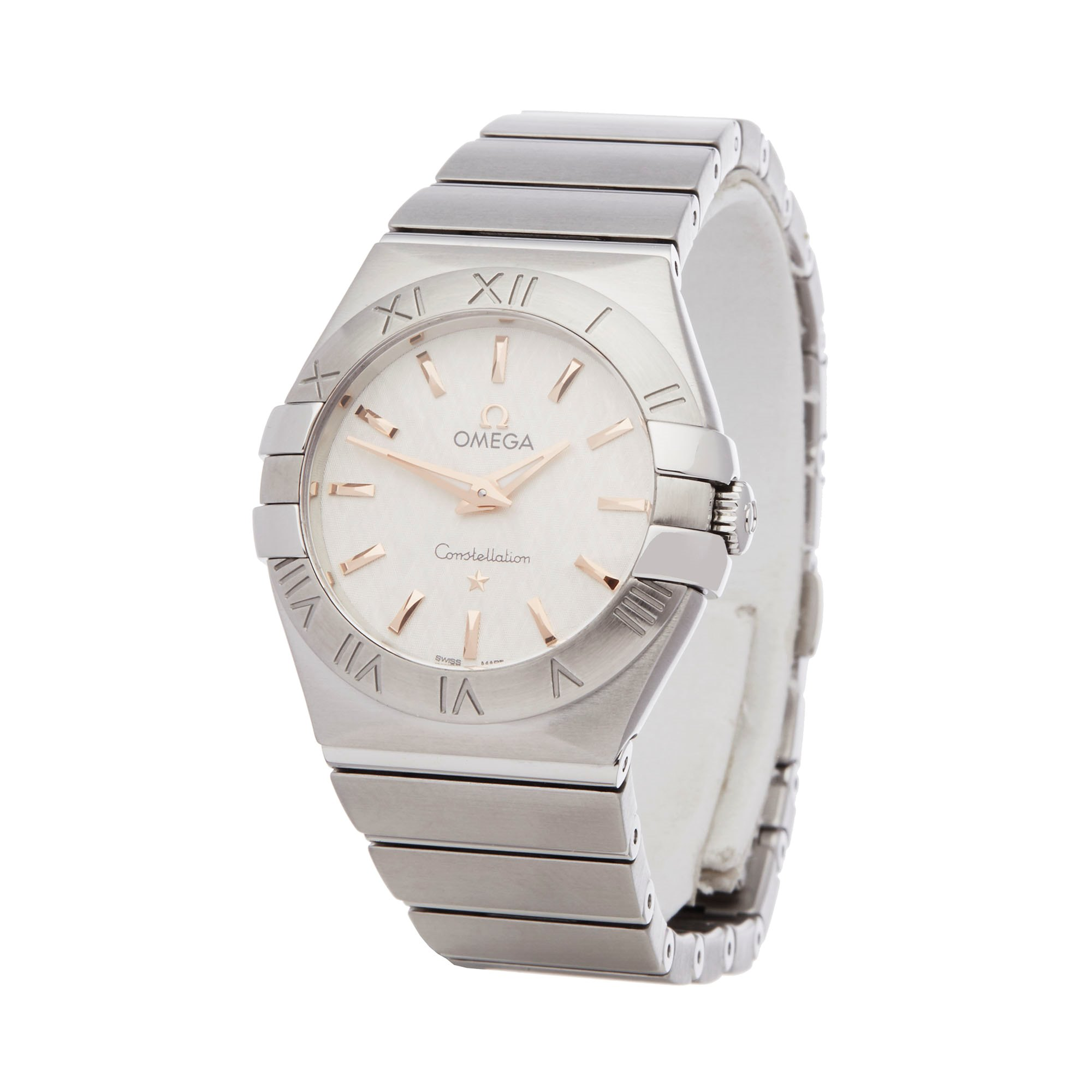 Omega Constellation Stainless Steel 123.10.27.60.02.004