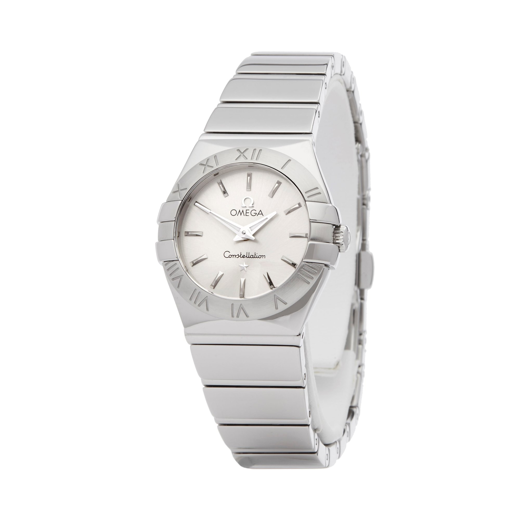 Omega Constellation Roestvrij Staal 123.10.24.60.02.00