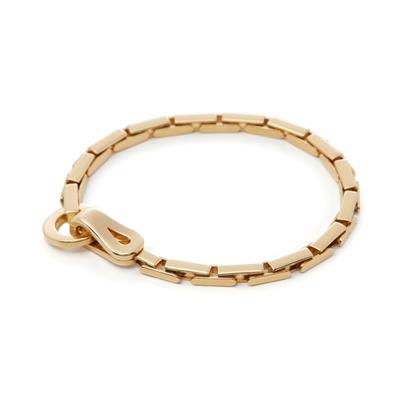 Cartier 18k Yellow Gold Agrafe Bracelet