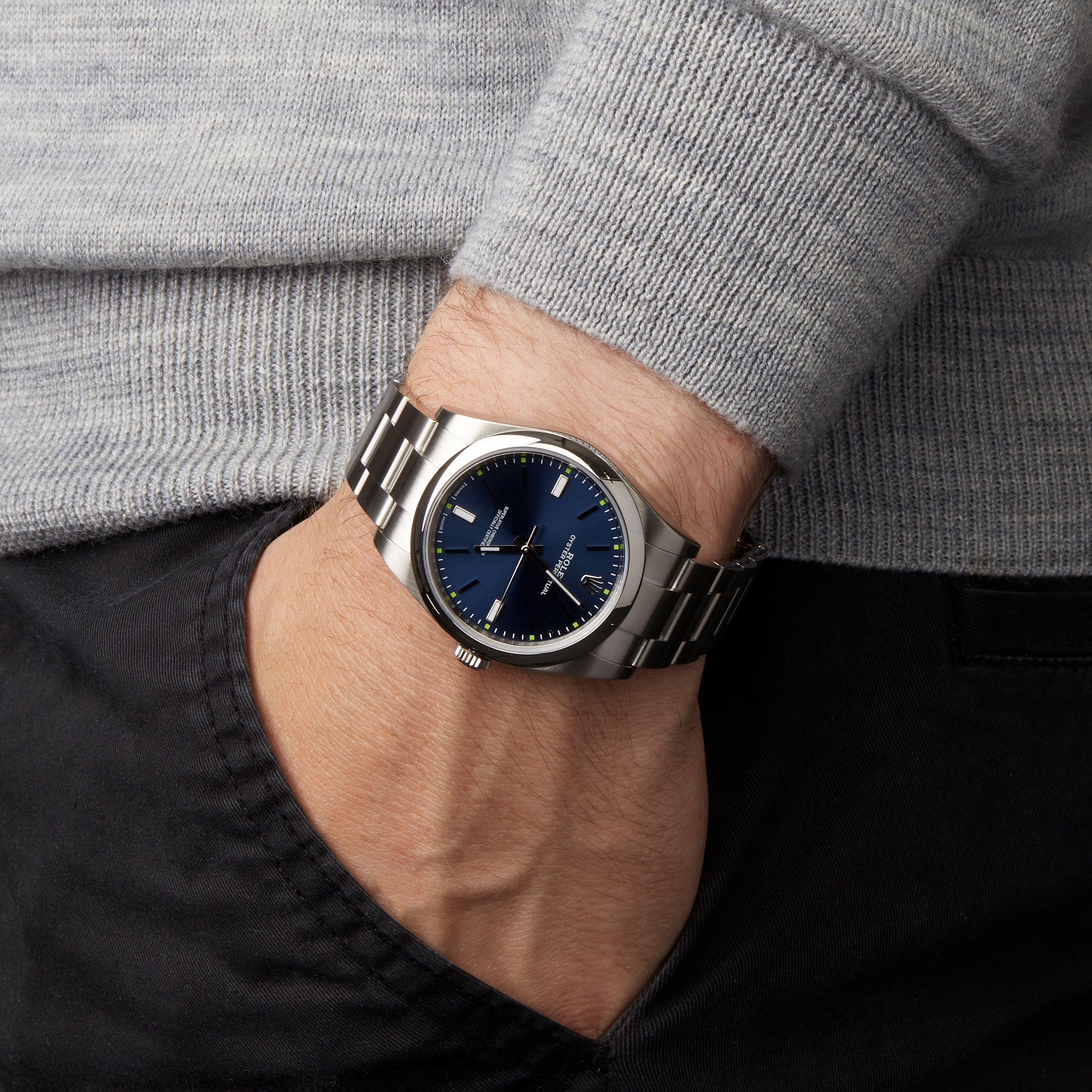 Oyster Perpetual 39 Stainless Steel 114300