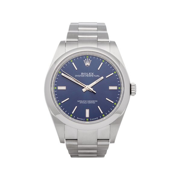 Rolex Oyster Perpetual 39 Stainless Steel - 114300