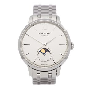Montblanc Meisterstück Heritage Moonphase Stainless Steel - 111184