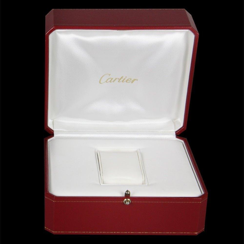 Cartier Tank a Vis 18k White Gold W1529651