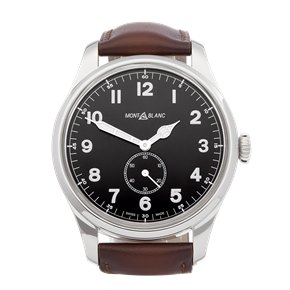 Montblanc 1858 Automatic Small Seconds Stainless Steel - 115073