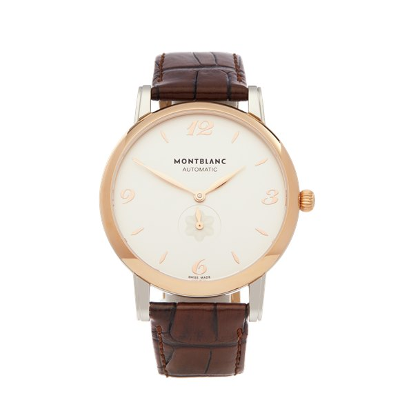 Montblanc Star Classique Stainless Steel & Rose Gold - 107309