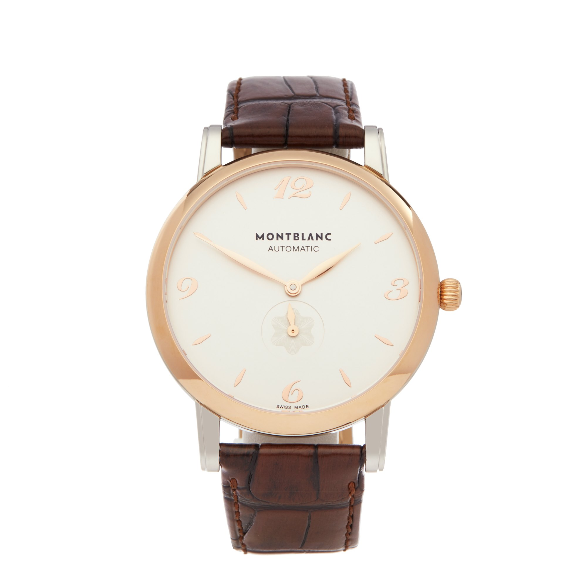 Montblanc Star Classique Stainless Steel & Rose Gold 107309