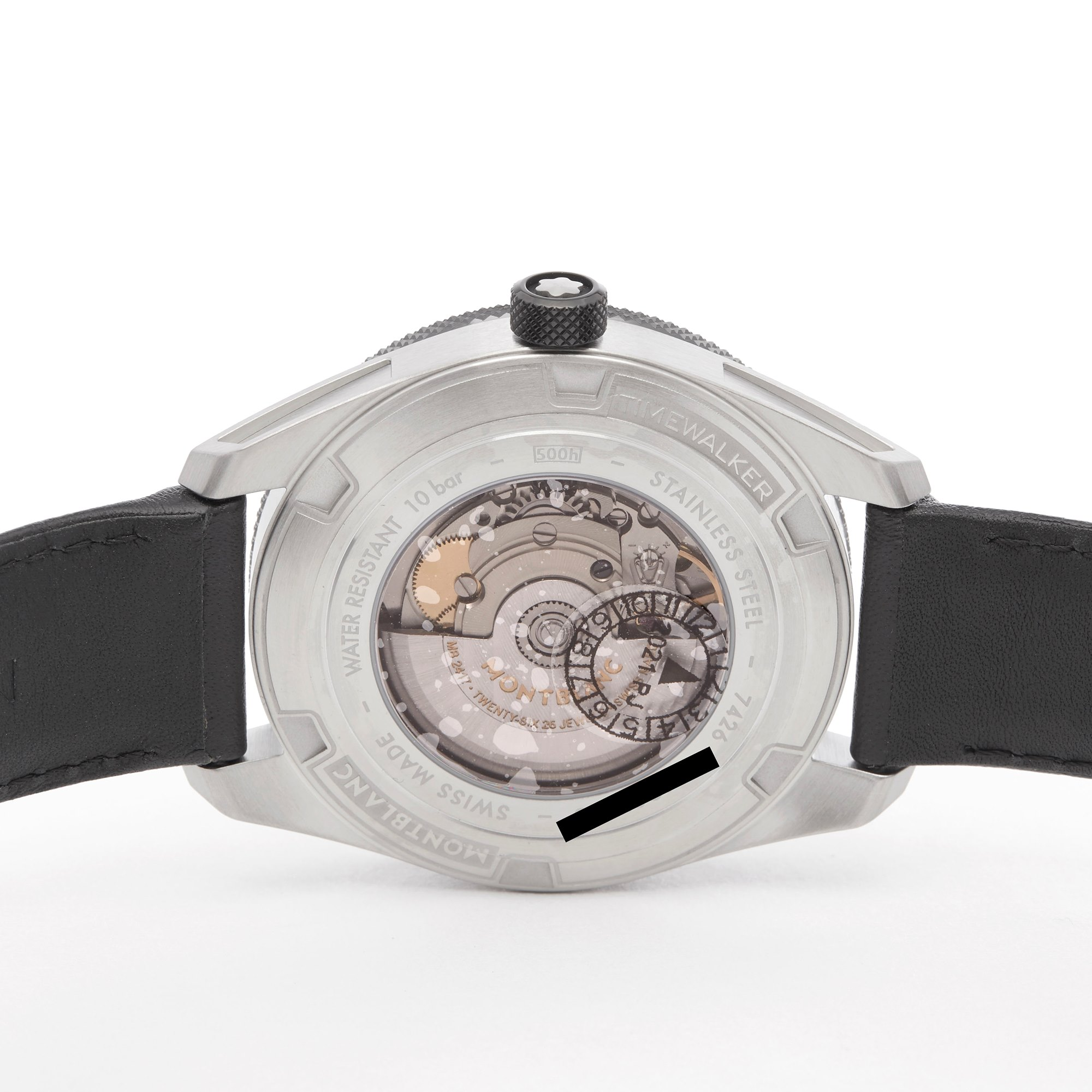 Montblanc Timewalker Stainless Steel 116058
