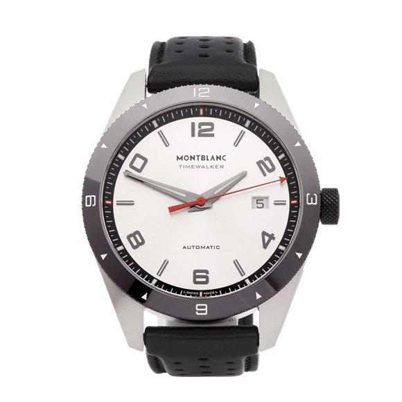 Montblanc Timewalker Stainless Steel - 116058