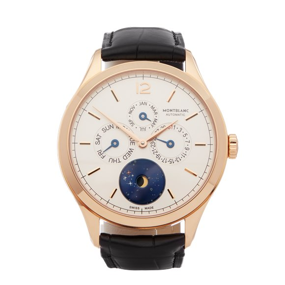 Montblanc Heritage Chonométrie Annual Calendar Yellow Gold - 112537