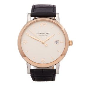 Montblanc Star Classique Stainless Steel & Rose Gold - 112145