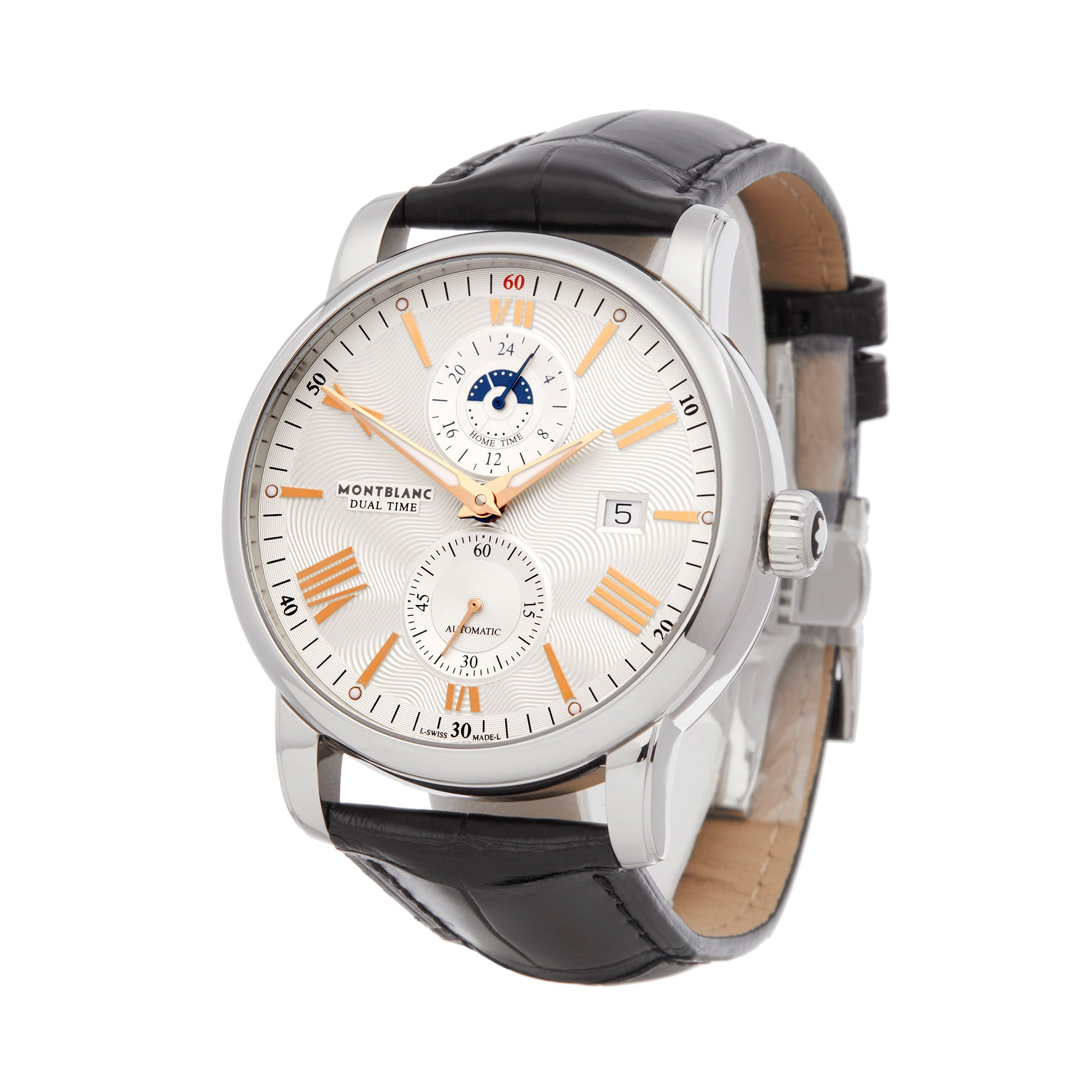 Montblanc Star Dual Time Roestvrij Staal 114857