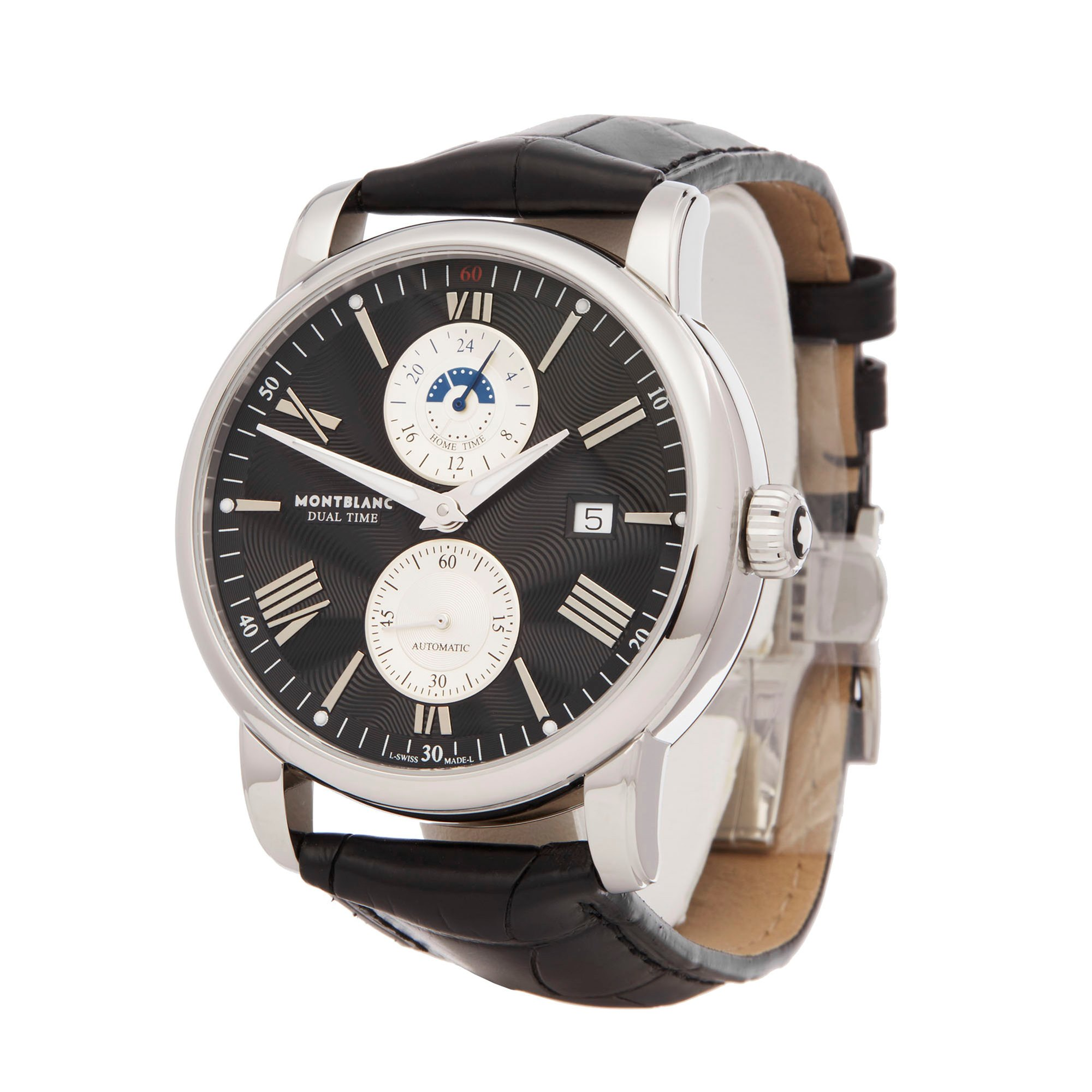 Montblanc Star Dual Time Stainless Steel 114858