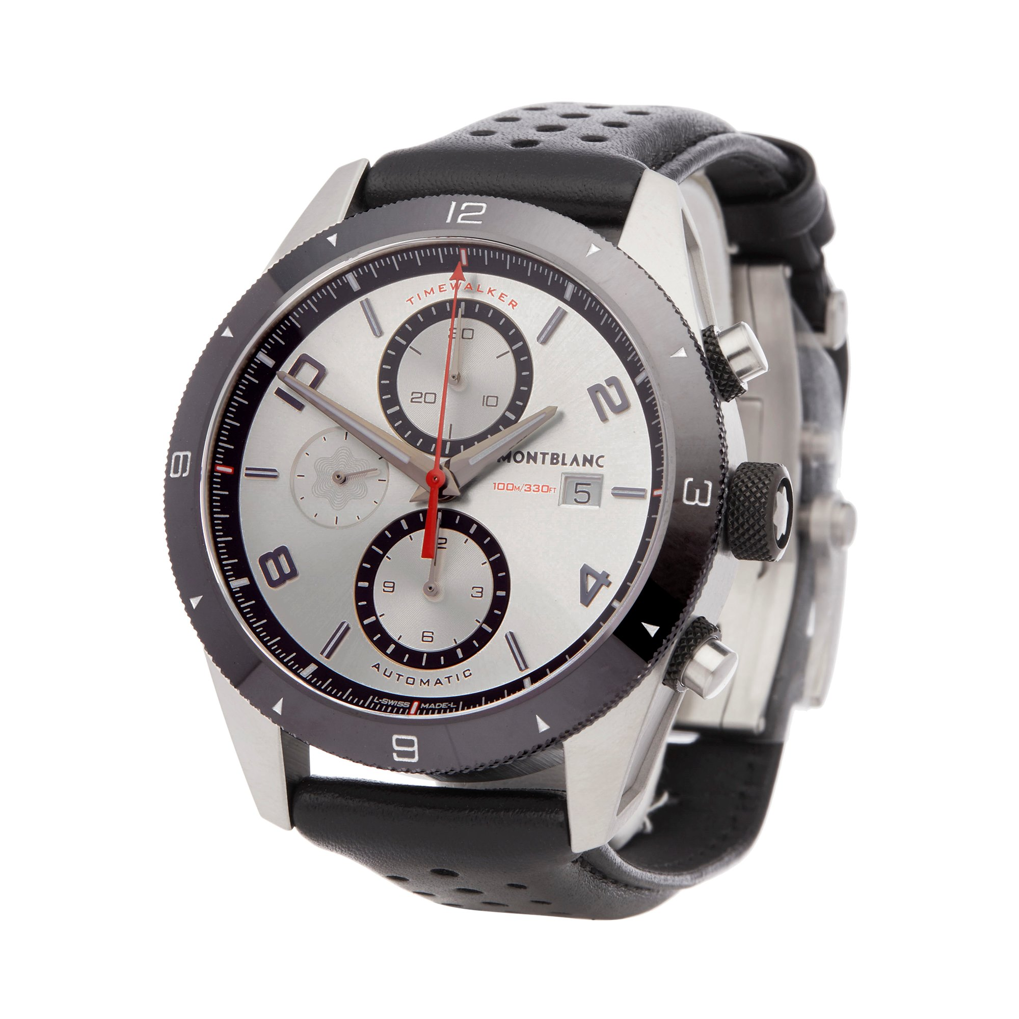 Montblanc Timewalker Chronograph Stainless Steel 116100