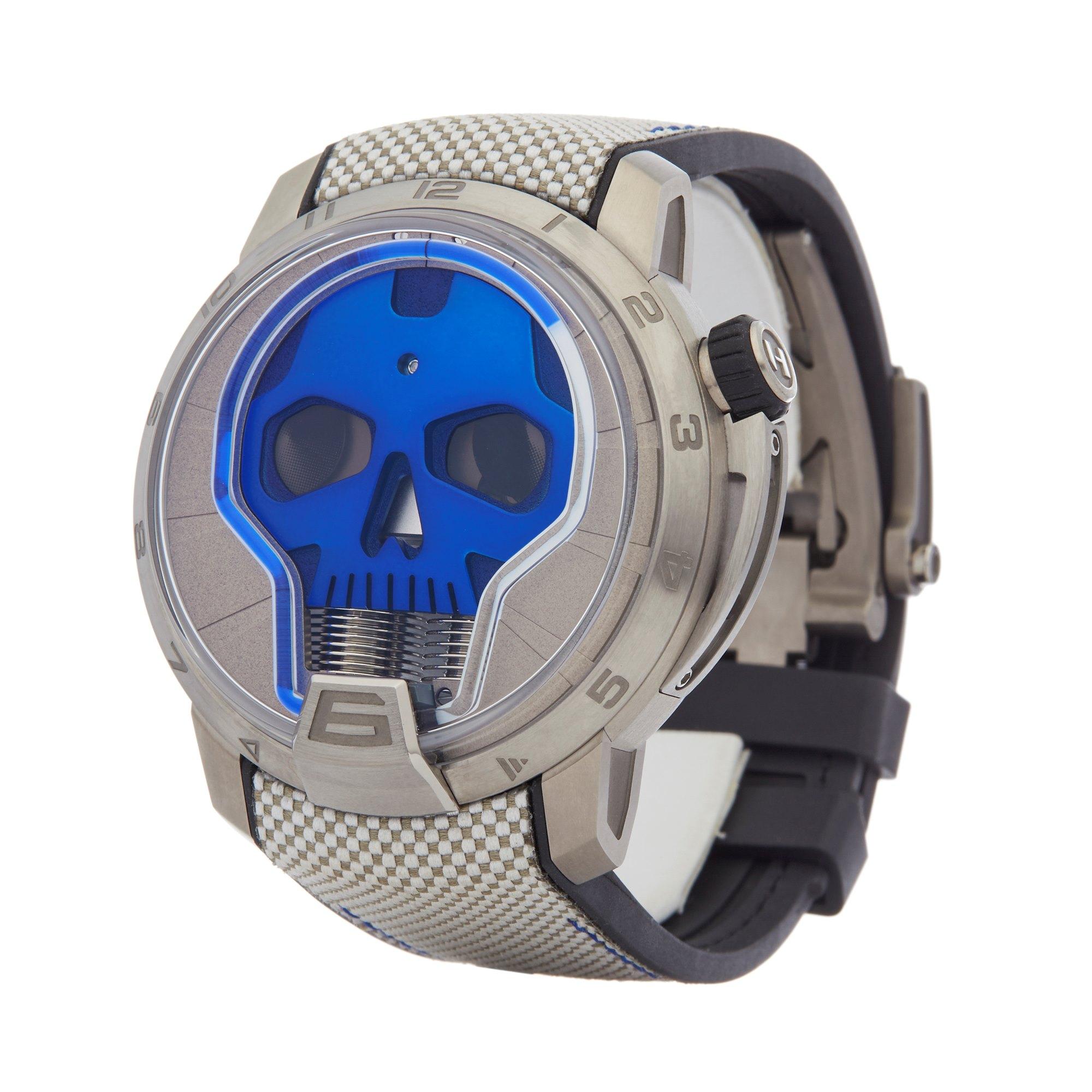HYT Skull Titanium S48-TT-33-BF-RA