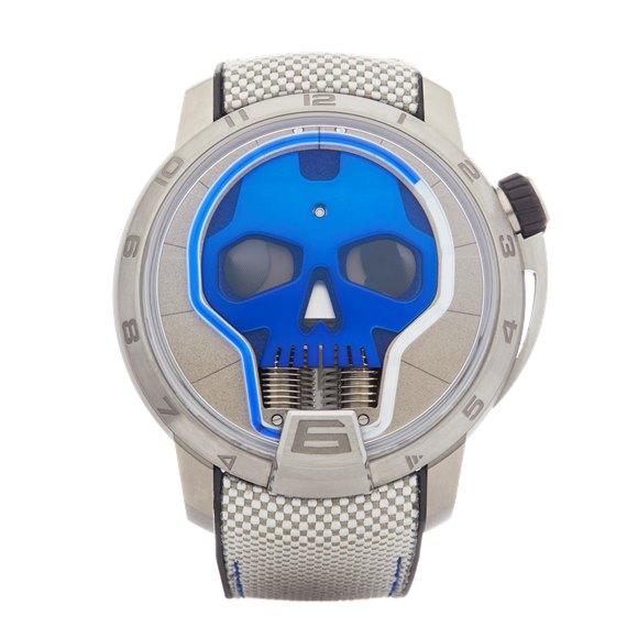 HYT Skull Titanium - S48-TT-33-BF-RA