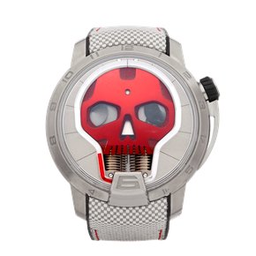 HYT Skull Titanium - S48-TT-34-RF-RA
