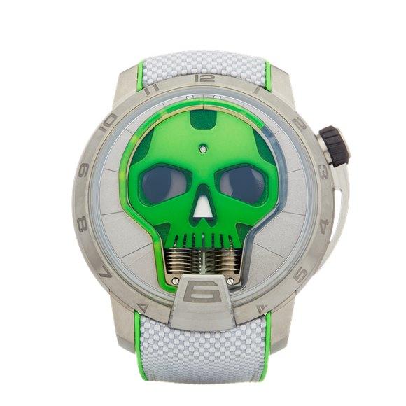 HYT Skull Titanium - S48-TT-35-GF-RA