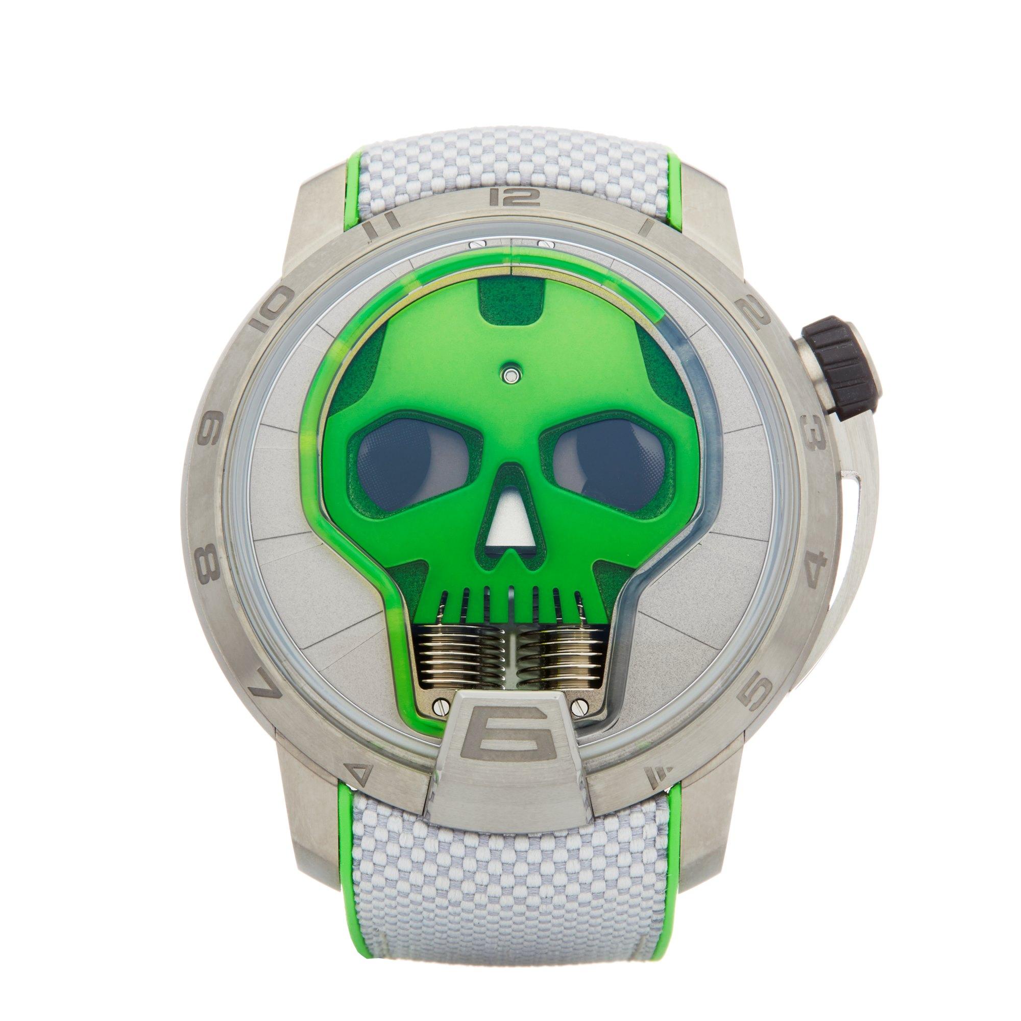 HYT Skull Titanium S48-TT-35-GF-RA