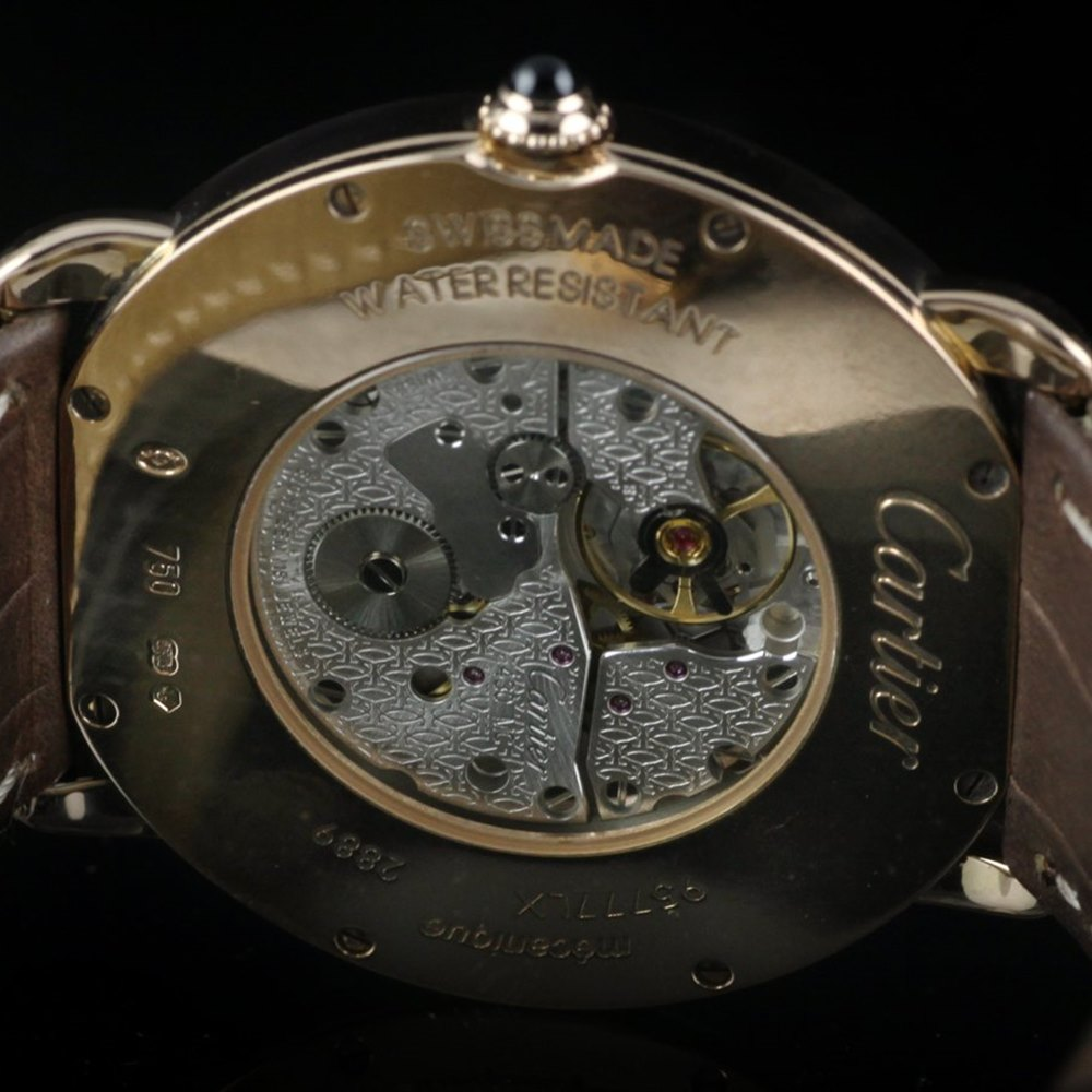 Cartier Ronde 18K Rose Gold W6800251