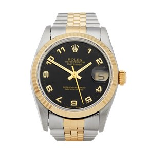 Rolex DateJust 31 Stainless Steel & Yellow Gold - 62873