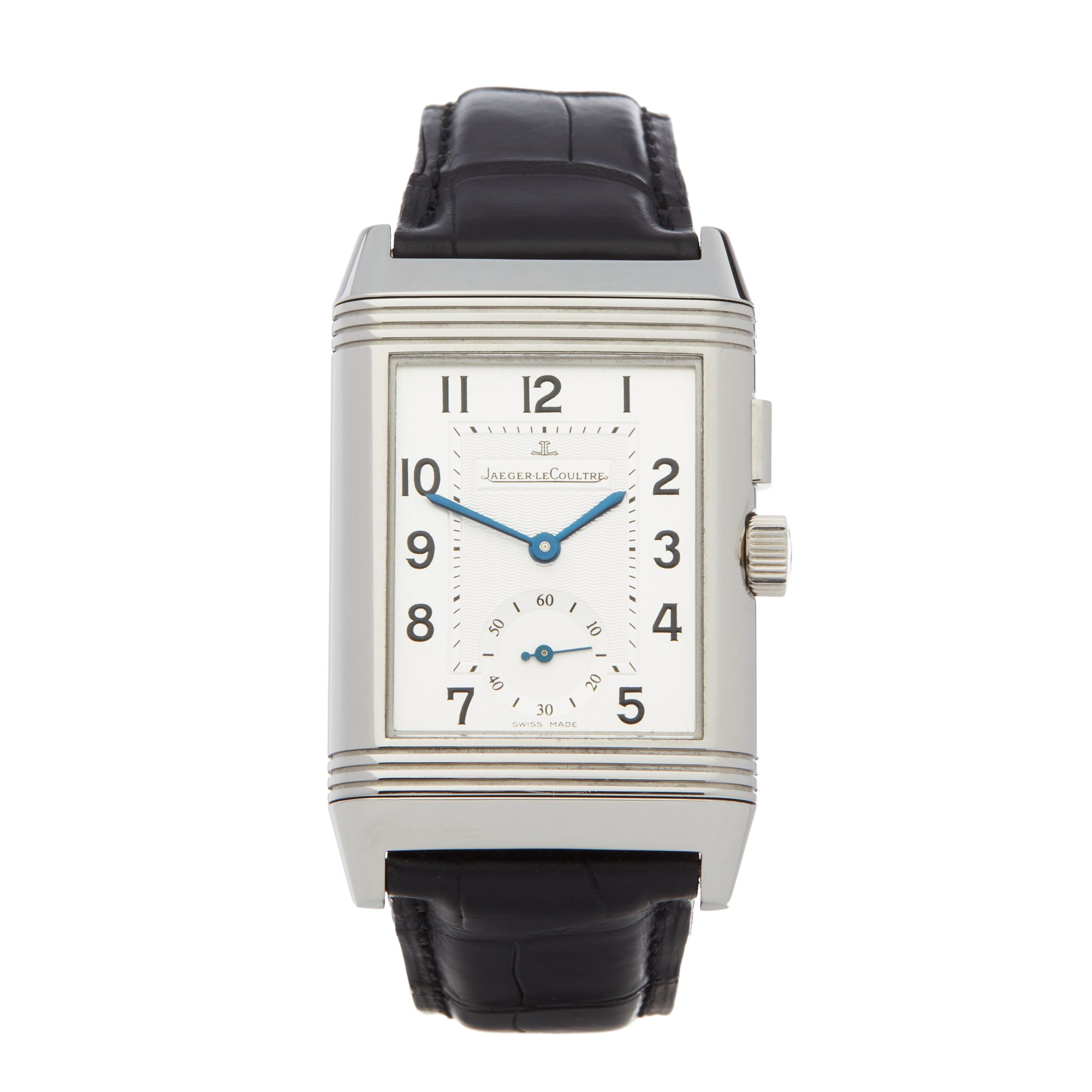Jaeger-LeCoultre Reverso Night & Day Roestvrij Staal 278.8.54