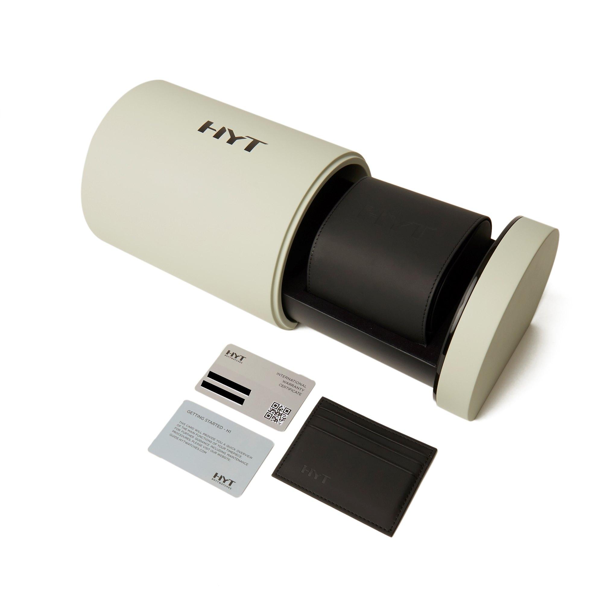 HYT H1 Titanium 148-TT-11-GF-RU