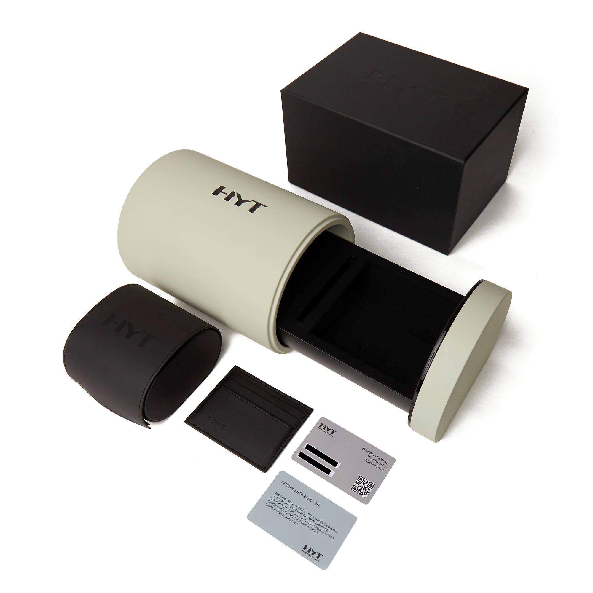 HYT H1 Iceberg Palladium Titane Titanium 148-TT-11-BF-RW