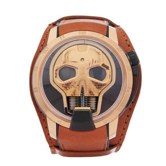 HYT H1 Skull Rose Gold - S48-DG-57-NF-LM