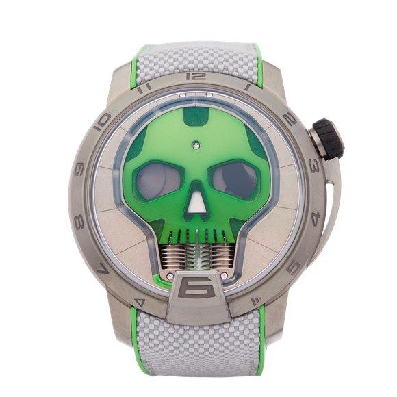 HYT H1 Skull Titanium - S48-TT-35-GF-RA