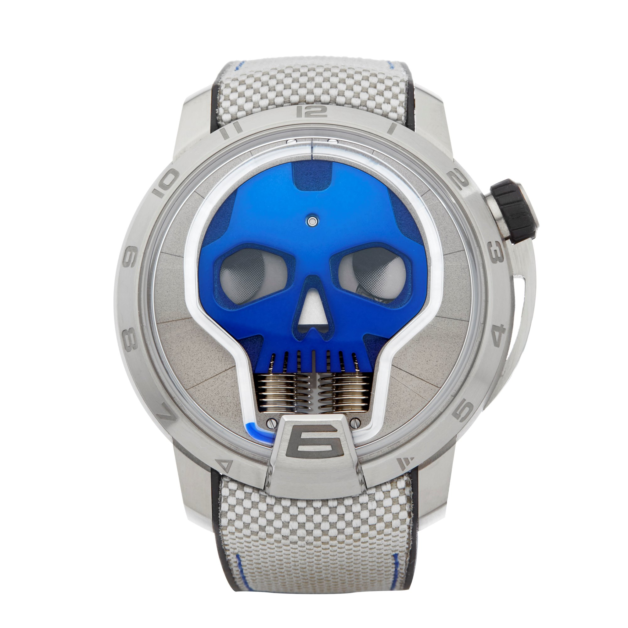 HYT H1 Skull Titanium S48-TT-33-BF-RA